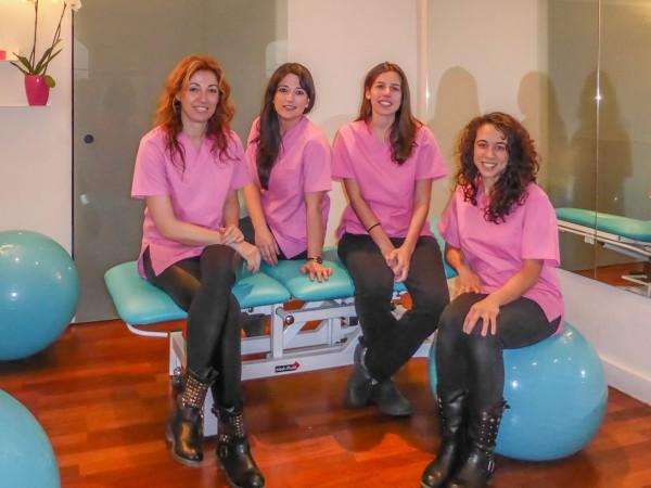 Equipo fisioterapia Centro Tandem Madrid