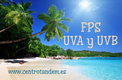 protección solar, UVA y UVB